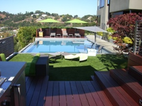 Enjoy your summer vacation with synthetic turf