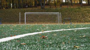 artificial turf soccer field stadium summer season